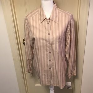 Evan Picone Silk Blouse NWT